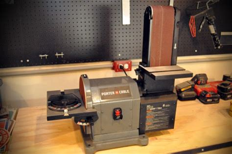 bench sander reviews porter cable bench sander review one project closer