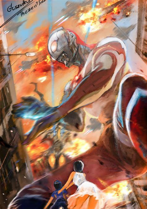 Ultraman By Thezentlion On Deviantart