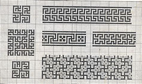 cornice punto croce cornici 057 schema da ricamare a puntocroce