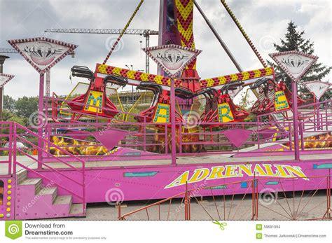 theme park krakow amusement park stock photo image 59691994