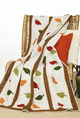 Soft Yarn Leaf 9522 crochet autumn leaves afghan wr1039 purple