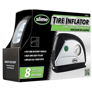 slime tire inflator   gauge  light  tractor supply