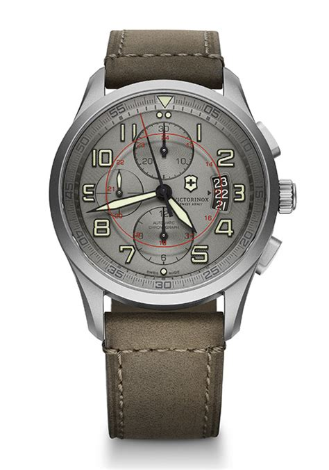 Swiss Army Grade Darkbrown by Victorinox Swiss Army Airboss Limited Edition Watchmobile7