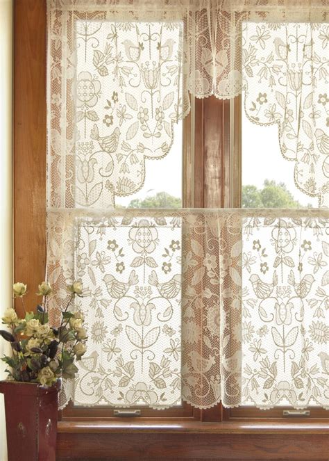 cottage lace curtains heritage lace folk lace curtains for maize s cottage folk folk
