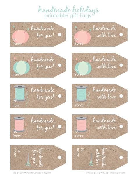 easy gift card tags diy templates labels handmade etiketten giveaway