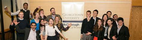 Georgetown Mba Ambassador by Ambassador Program Mcdonough School Of Business