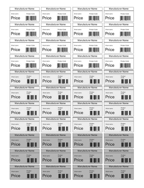 price tag template search results for price tag template printable free