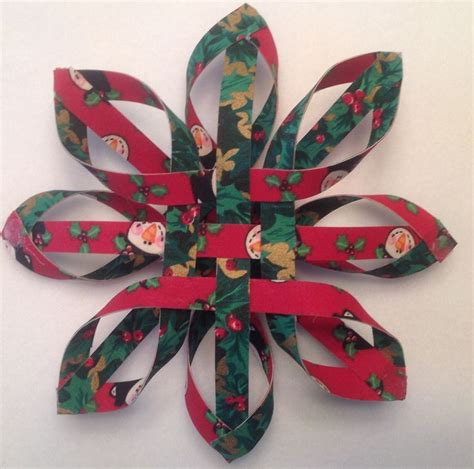 pattern for woven snowflake ornament woven fabric snowflake ornament pattern at houserevivals