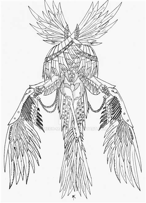 Seraphim coloring, Download Seraphim coloring for free 2019