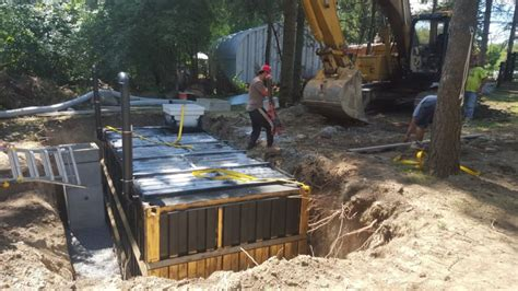 backyard underground bunker man transforms shipping container into an underground
