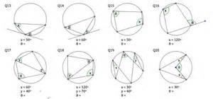 circle theorems worksheet davezan