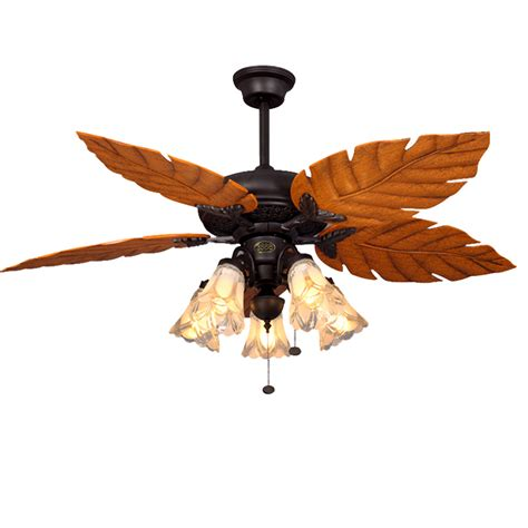 ceiling fan leaf blades leaf ceiling fan with light kendal lighting ac13152 orb