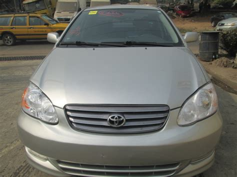 toyota payment account clean toyota corolla sports 03 tokunbo autos nigeria