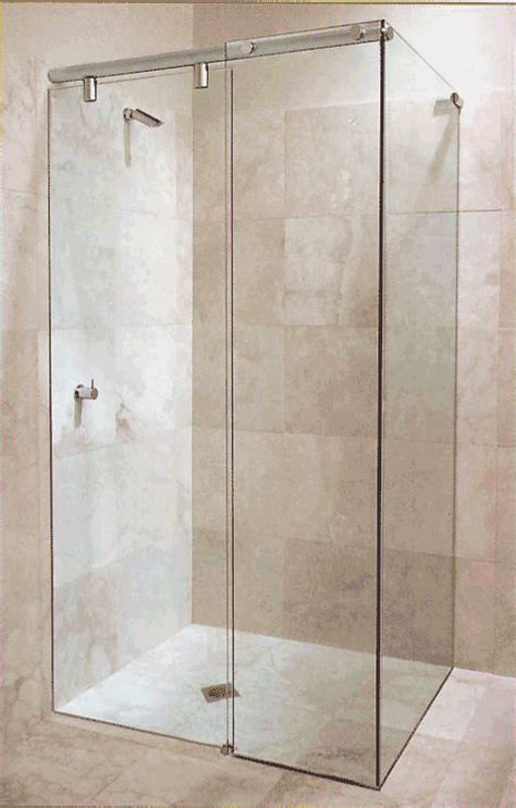 Standing Shower Door Sliding Shower Door Gallery 5