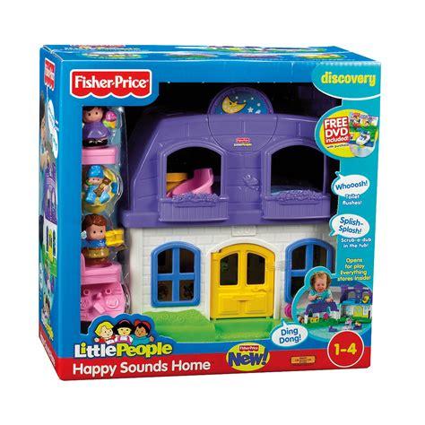 fisher price geluiden huis fisher price little people vrolijke geluiden huis