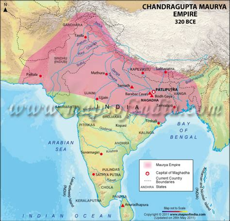 mauryan empire ancient history encyclopedia india1000bceto1500ce licensed for non commercial use only