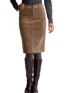 corduroy skirts corduroy pencil skirt by creation l freemans