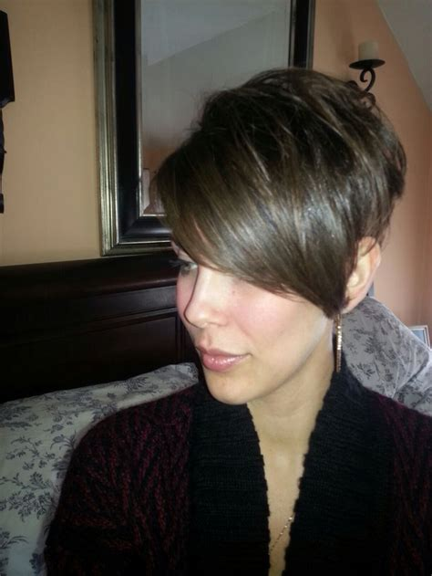 how to style pixie cut with long bangs best 10 pixie cut long bangs ideas on pinterest pixie