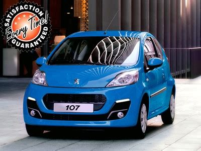 cheapest new peugeot 107 save 50 no deposit car leasing cheapest deals