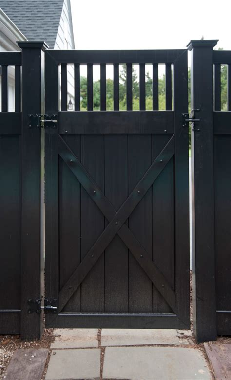 interior give your black fence paint a new facelift through these simple makeover ideas luxury