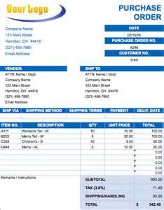Purchase Order Template Microsoft Excel by Cold Call Tracker Xls