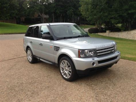 how to sell used cars 2008 land rover range rover windshield wipe control sell used 2008 range rover sport supercharged fully loaded in tyler texas united states