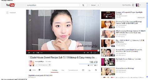 Etude House Di Jogja chanel my favourite channel from