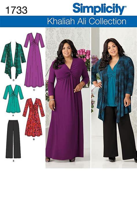 Simply Bigsize Shirt new simplicity plus size sewing patterns womens size 20w