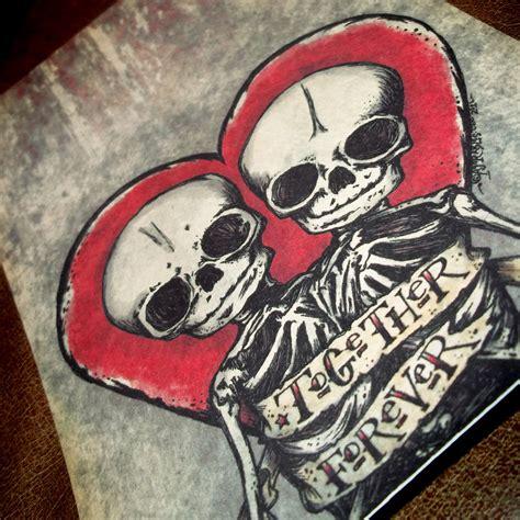 tattos on pinterest death tattoo skeleton love and