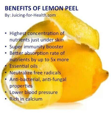 Lemon Rind Detox by Benefits Of Lemon Peel Healing Naturally