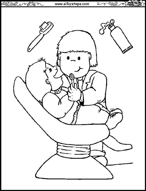 pinterest coloring pages for toddlers jobs coloring worksheet dentist colouring picture
