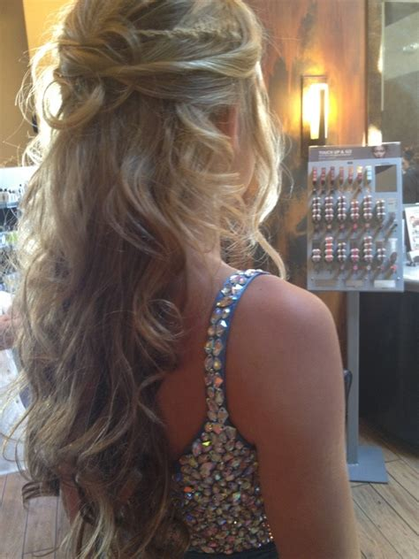 prom hairstyles 2015 hair style this is my ideal prom hair style i think half up half
