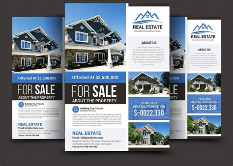 real estate for sale flyer template real estate real estate flyer flyer templates creative market