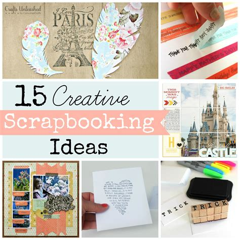 Idea Designs by Scrapbooking Ideas Roundup 15 Techniques To Try