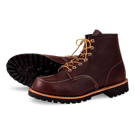 mens moc toe boot wing heritage s 8146 6 inch moc toe boot moosejaw