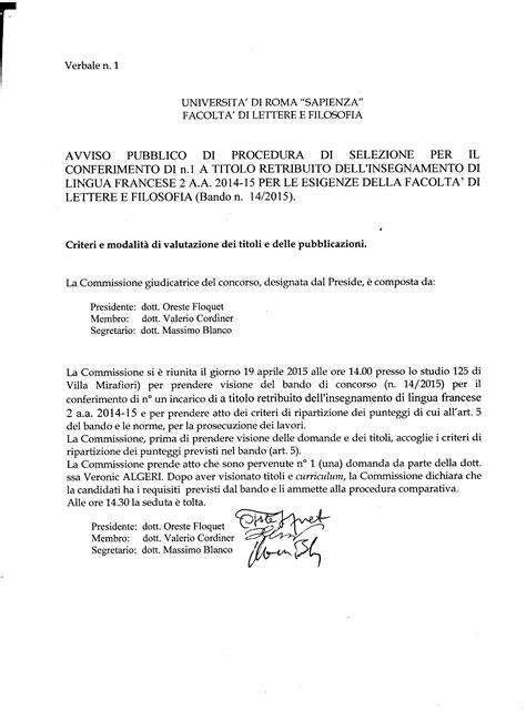 uniroma lettere bandi sapienza universit 224 di roma