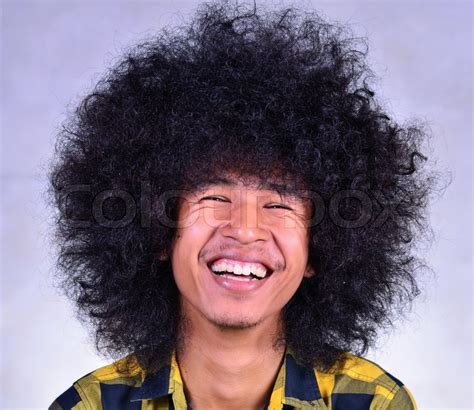 long hairstyles for big heads face of emotion funny man series by big head and long hair
