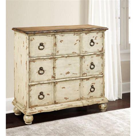 pulaski furniture distressed white chest ds p017029 the home depot