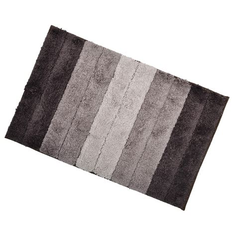 Bathroom Shower Mat Soft Tufted Microfibre Bathroom Shower Bath Mat Rug Non Slip Back 12 Colours