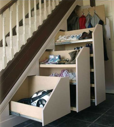 shoe storage for stairs the best idea for the stairs coats shoes vacuum
