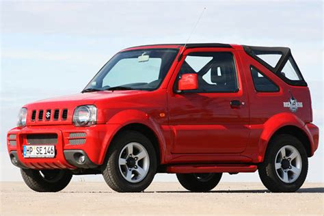 Suzuki Jimny Convertible Review Power Of Suzuki Jimny Cabrio Rock Am Ring Heise Autos