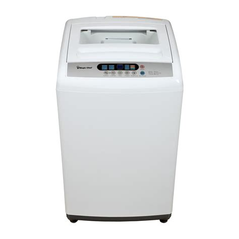 magic chef 2 1 cu ft compact top load washer in white