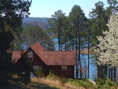 lakefront cabin in cove on greers ferry vrbo