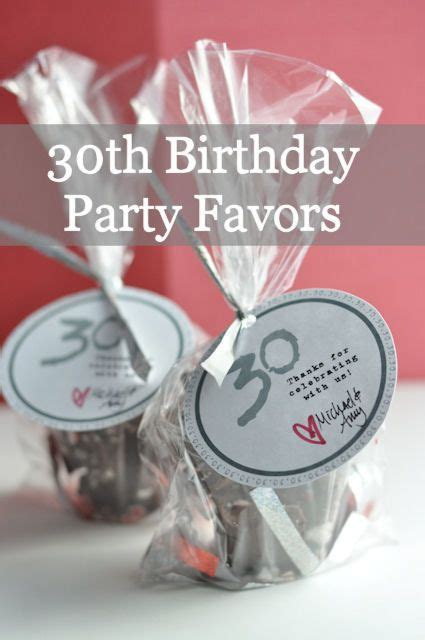 Ee  Th Ee    Ee  Birthday Ee   Party Favors With Free Printable Party