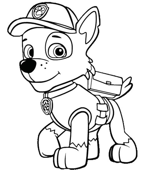 free printable coloring book pages paw patrol coloring pages birthday printable