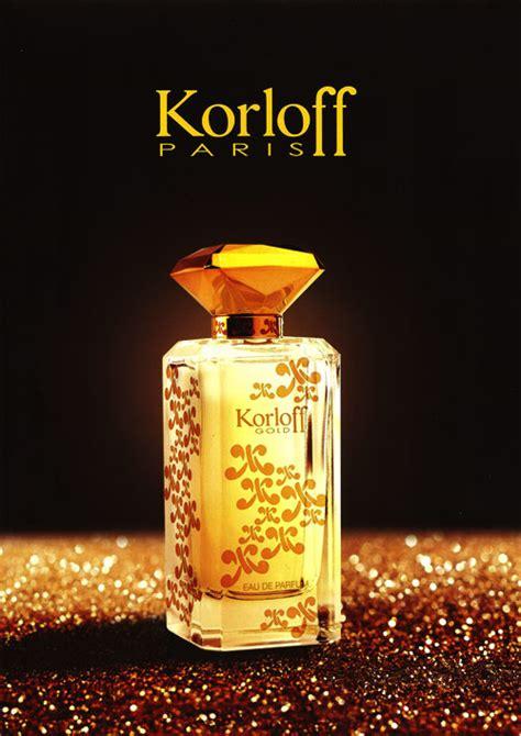 Parfum Korloff korloff gold new fragrances