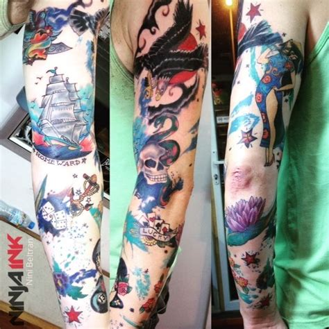 ninja tattoo hanoi 1000 images about sleeve tattoos on pinterest