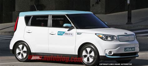 Kia Soul 2015 Models 2015 Kia Soul Ev Production Model Ahead The 2014 Chicago