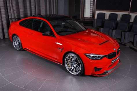 Ferrari Red Bmw M4 Oozing Appeal With M Performance