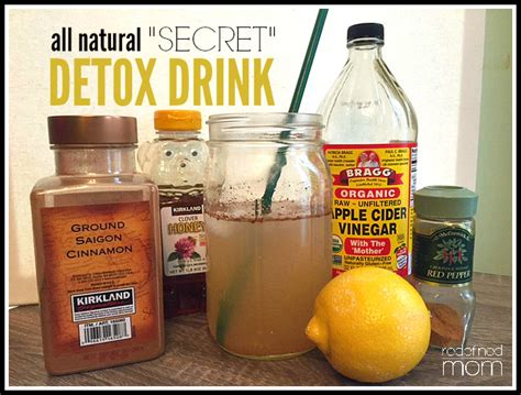 Four Month Detox Tea by All Quot Secret Quot Detox Drink Recipe